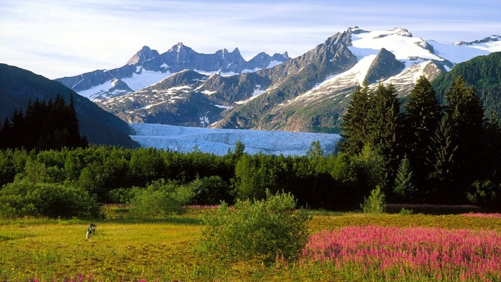 A Photographer's Canvas, Mendenhall Glacier, Alaska